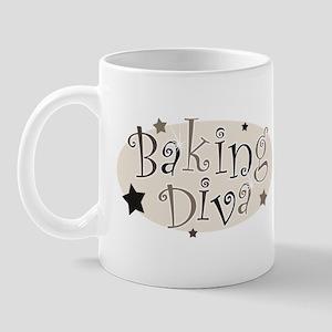 Baking Diva [brown] Mug